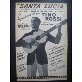 Santa Lucia Barcarolle Napolitaine Tino Rossi 1937