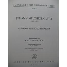 GLETLE Johann Melchior Ausgewählte Kirchenmusik Chant Orchestre 1959