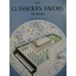 Les Classiques Favoris Volume 1 Complément Piano