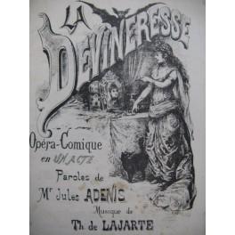 DE LAJARTE Théodore Devineresse Opéra Chant Piano XIXe