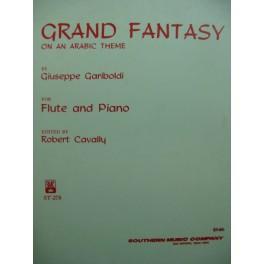 GARIBOLDI G. Grand Fantasy on an Arabic Theme Flute Piano 1979