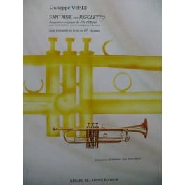 VERDI Giuseppe Fantaisie sur Rigoletto Trompette Piano 1993