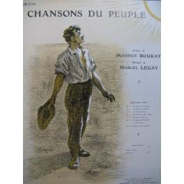 LEGAY Marcel La Chanson de Thermidor Chant Piano