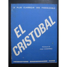 El Cristobal Paso-doble José Candrino Accordéon 1969