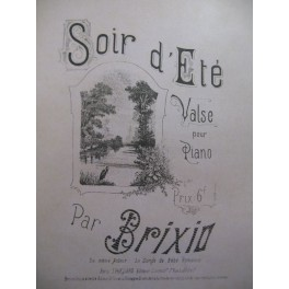 BRIXIO Soir d'Ete Piano
