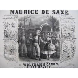 WOLFRAMM CARON Gustave Maurice de Saxe Piano XIXe siècle