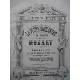MOZART W. A. La Flûte Enchantée Opéra pour Piano solo XIXe