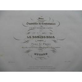 MUSARD Le Domino Noir Piano ca1840