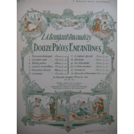 BOURGAULT-DUCOUDRAY L. A. Première Rêverie Piano 1907