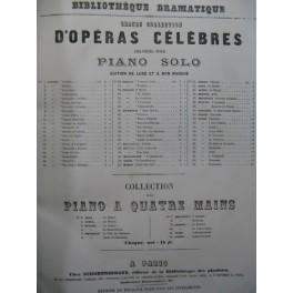 CIMAROSA Domenico Il Matrimonio Segreto Piano solo ca1855