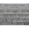 ROGAT A. Grand Pas Cosmopolite de Micromégas Piano XIXe siècle