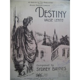 BAYNES Sydney Destiny Piano 1912