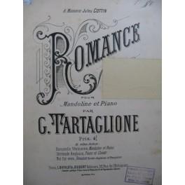 TARTAGLIONE G. Romance Piano Mandoline