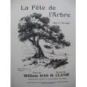 CLAVIÉ H. La Fête de l'Arbre Chant Piano 1927