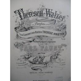 FAUST Carl Theresen Walzer Piano XIXe siècle