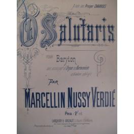 NUSSY VERDIÉ Marcellin O Salutaris