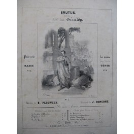CONCONE Joseph Brutus Sorrieu Chant Piano ca1845