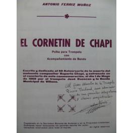 FERRIZ MUNOZ Antonio El Cornetin de Chapi Trompette Banda 1987