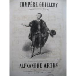 ARTUS Alexandre Compère Guillery Chant Piano ca1840