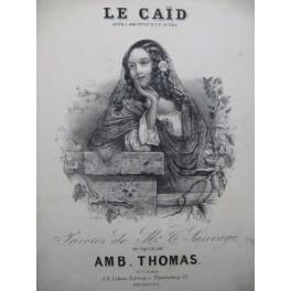 THOMAS Ambroise Le Caïd Opéra No 7 Romance Chant Piano XIXe