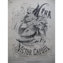 CAPOUL Victor Méha Chanson Hongroise Chant Piano XIXe