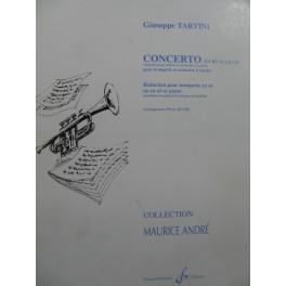 TARTINI Giuseppe Concerto Ré Maj Piano Trompette 1990