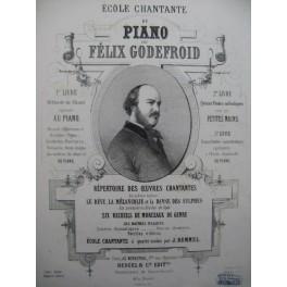 GODEFROID Félix Tyrolienne Favorite Piano XIXe siècle