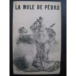 MASSE Victor La Mule de Pedro Nanteuil Chant XIXe