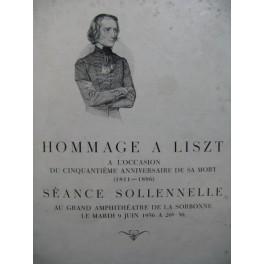 Hommage à Franz Liszt 1936