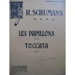 SCHUMANN Robert Les Papillons Toccata Piano