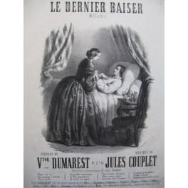 COUPLET Jules Le Dernier Baiser Piano Chant XIXe