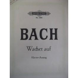 BACH Jean Sébastien Wachet Auf Cantate BWV 140