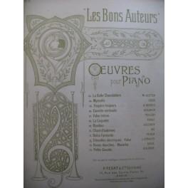 STRAUSS Johann Étincelles Électriques Piano