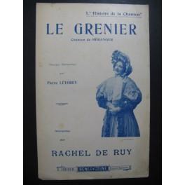Le Grenier Chanson Béranger