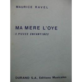 RAVEL Maurice Ma mère l'Oye Orchestre