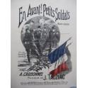 TAUZIAC J. En avant ! Petits Soldats Chant Piano