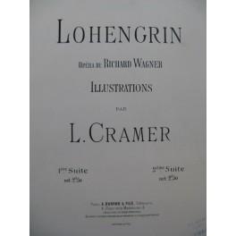 CRAMER L. Lohengrin 1ère Suite Piano 1892
