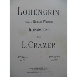 CRAMER L. Lohengrin 2ème Suite Piano 1892