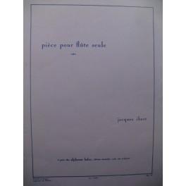 IBERT Jacques Pièce pour Flûte seule 1993