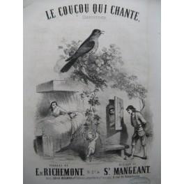 MANGEANT Sylvain Le Coucou qui chante Chant Piano ca1858