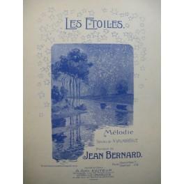 BERNARD Jean Les Etoiles Chant Piano