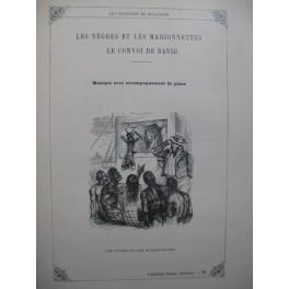 BÉRANGER Les Nègres et les Marionnettes Chant Piano