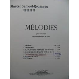SAMUEL ROUSSEAU Marcel Tendresse Maternelle Chant Piano