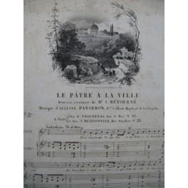 PANSERON Auguste Le Pâtre à la Ville Chant Piano ca1830