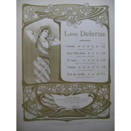 DELERUE Léon Intimité Chant Piano