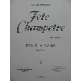 ALBANIS Donis Fête Champêtre Paris 1965