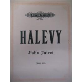 HALEVY Jacques Fromental La Juive piano solo