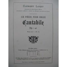 LORET Clément Cantabile Orgue ca1900