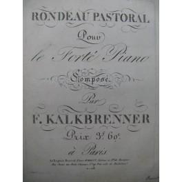 KALKBRENNER Frédéric Rondeau Pastoral Piano ca1825