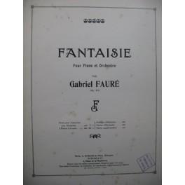 FAURÉ Gabriel Fantaisie 2 Pianos 4 mains 1919